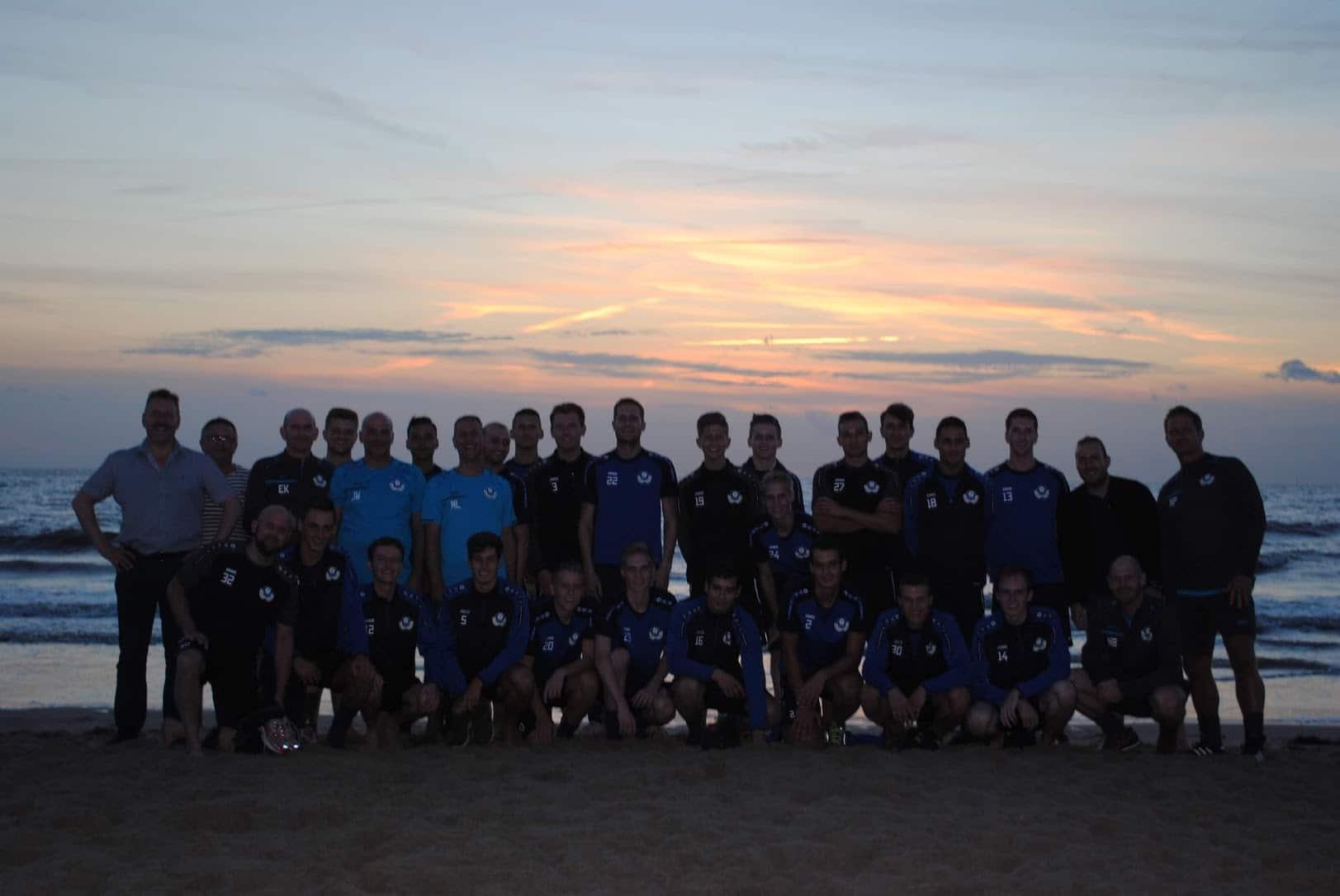 Teamfoto zee